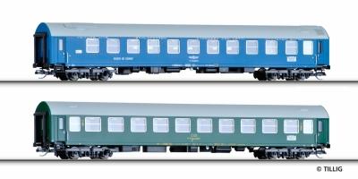 NOVÉ dva rychlíkové vozy Balt Orient Expres ČSD
