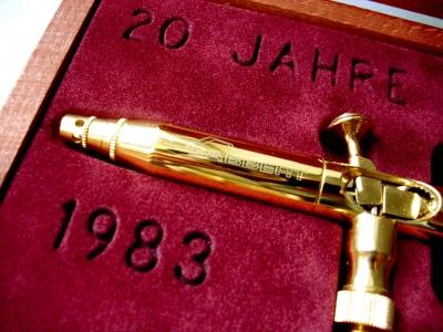 Airbrush pistole Gabbert Triplex 'Gold Editon'