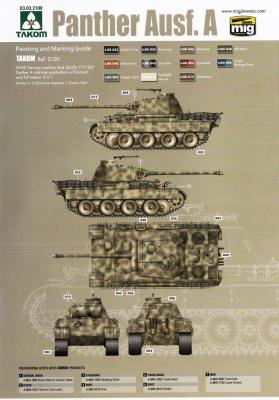 Koupím barevná schémata tanků