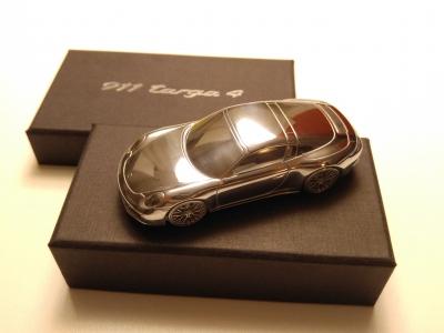 Originální kovové modely Porsche - sbírka