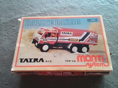 Tatra 815 Dakar plastová