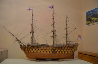 Model hystorické lodi VICTORY