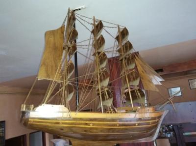 dřevěný model, 1m dlouhý