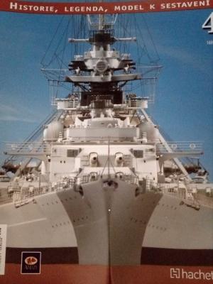 loď BISMARCK - stavebnice 1 : 200