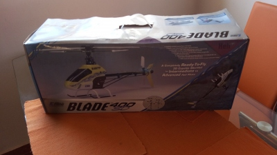 RC vrtulník - Blade 400 3D