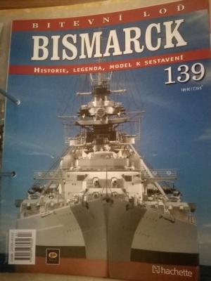 Prodám  bitevní loď BISMARCK 1/200