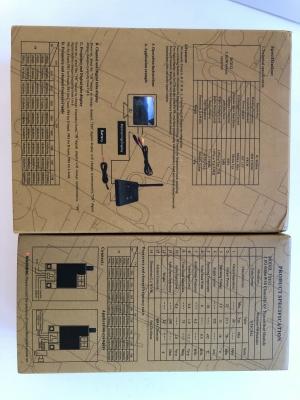 5.8G 5km bezdrátový AV FPV vysílač TS832 + přijímač RC832