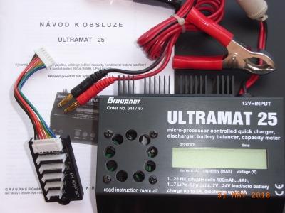 Nabíječka Grauner Ultramat 25
