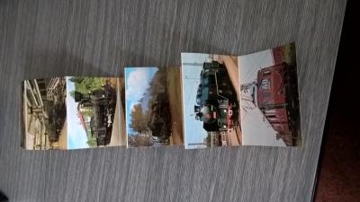 historické lokomotivy NTM - skládačka fotografií